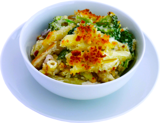 Broccoli and Chicken Pasta Bake