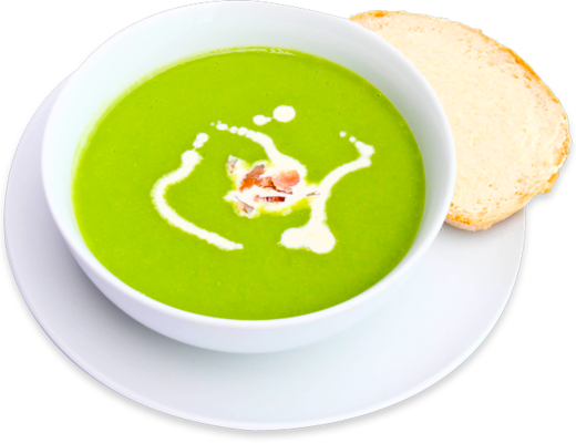 Pea and Bacon Soup
