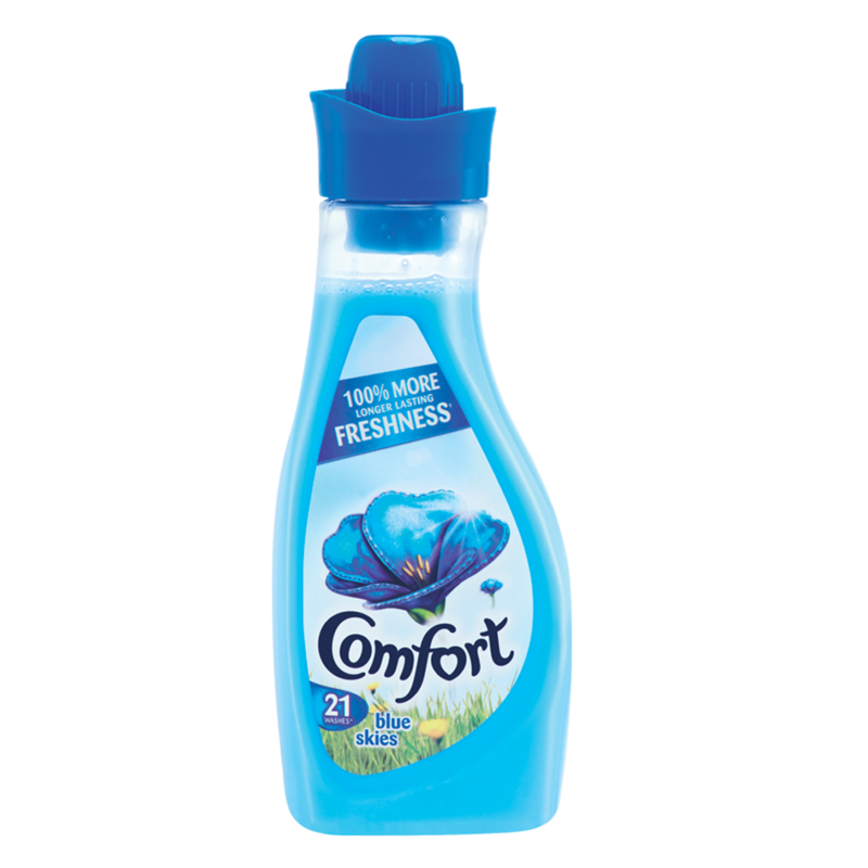 Comfort Fabric Conditioner Blue 21wash 750ml