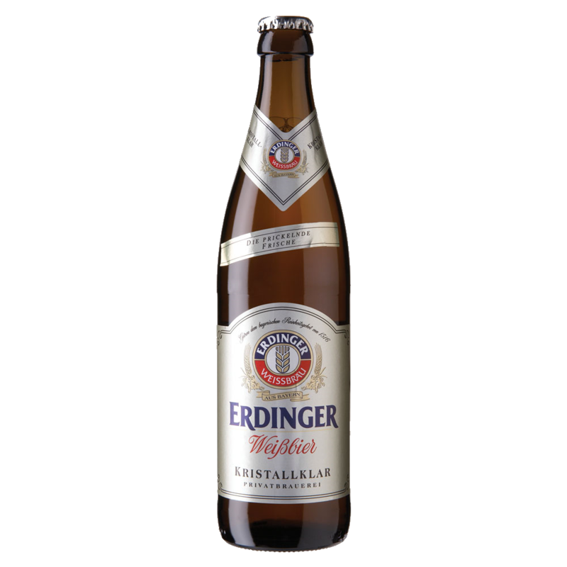 Erdinger Kristall Wheat Beer 50cl