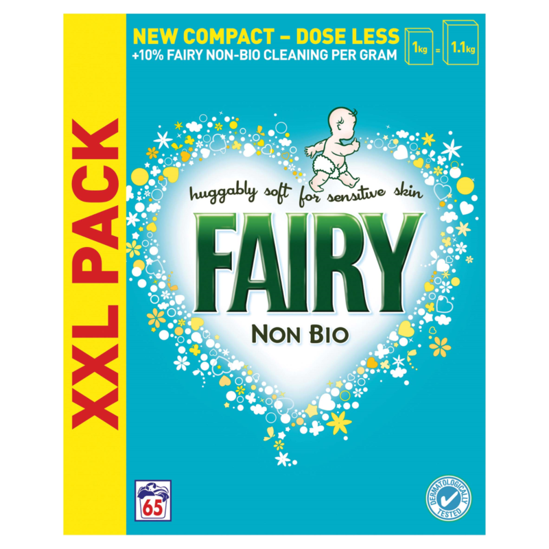 Fairy Non Bio Laundry Powder 65 Washes