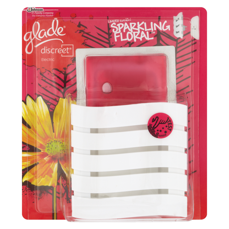 Glade Limited Edition Discreet Sparkling Floral 8g