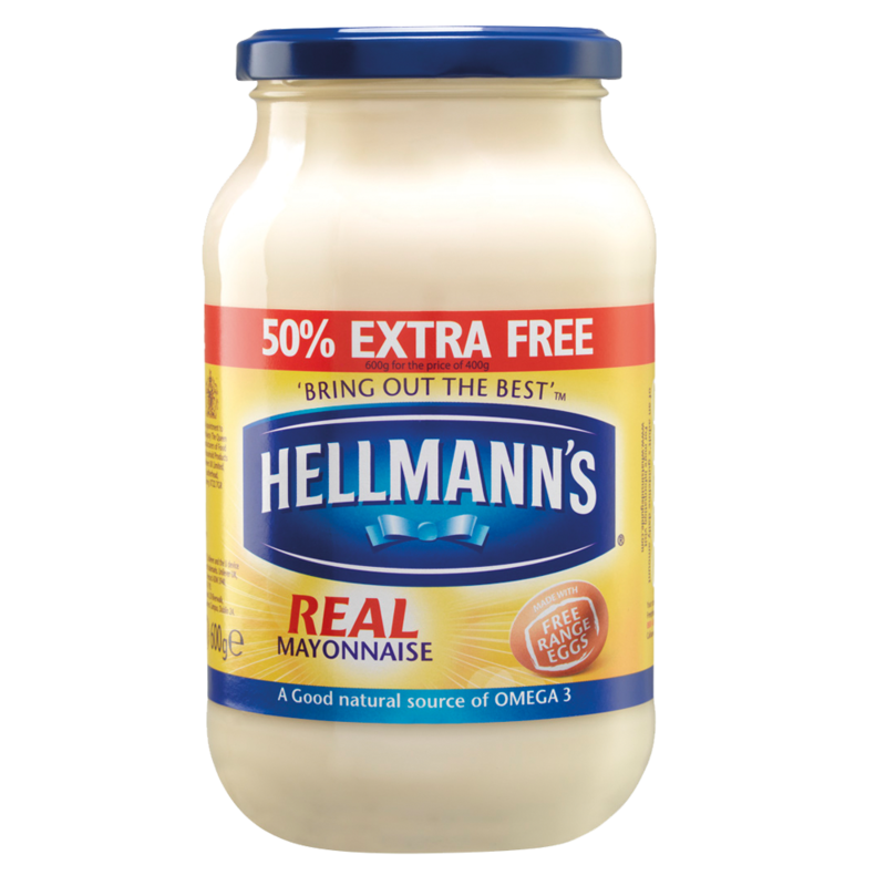Hellmanns Real 50  Extra Free