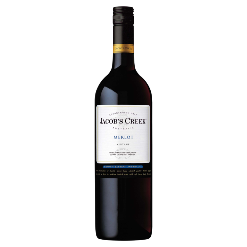 Jacob s Creek Merlot 750ml