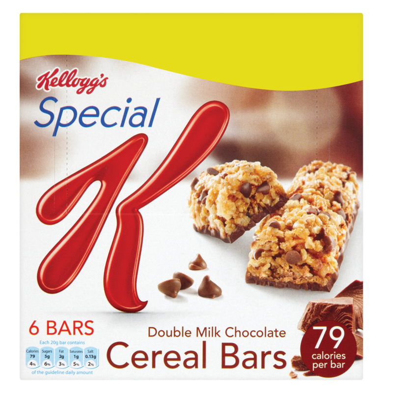 Kelloggs SpecialK ChocolateCerealBar 96g 125g