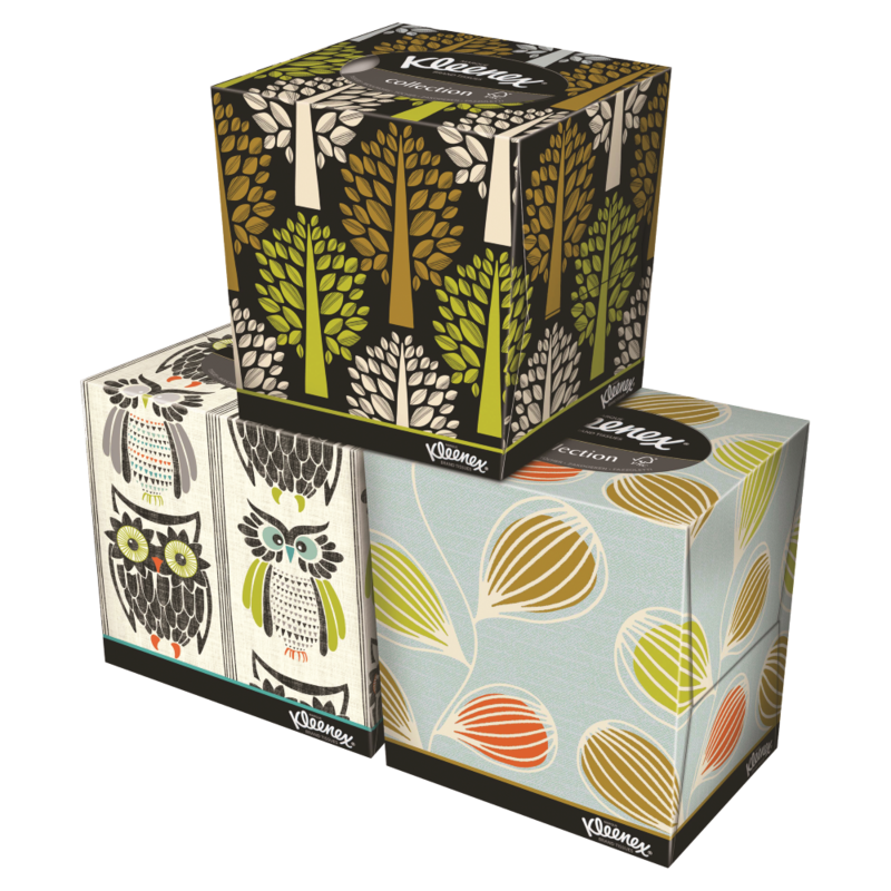 Kleenex  Collection Tissues Cube Single
