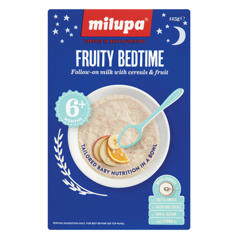 Milupa Fruity Bedtime 6Months 125g