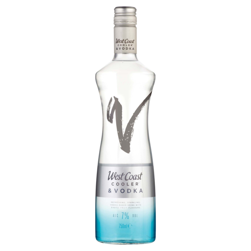 West Coast Cooler   Vodka 750ml