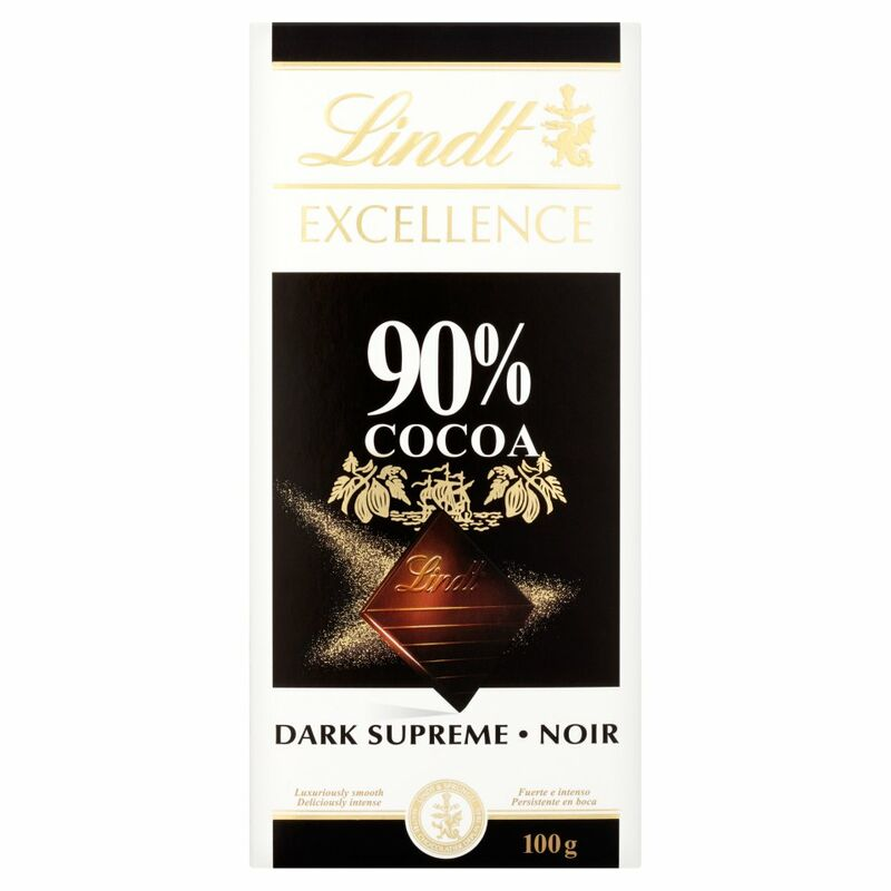 Lindt Excellence 90% Cocoa Dark Supreme 100g