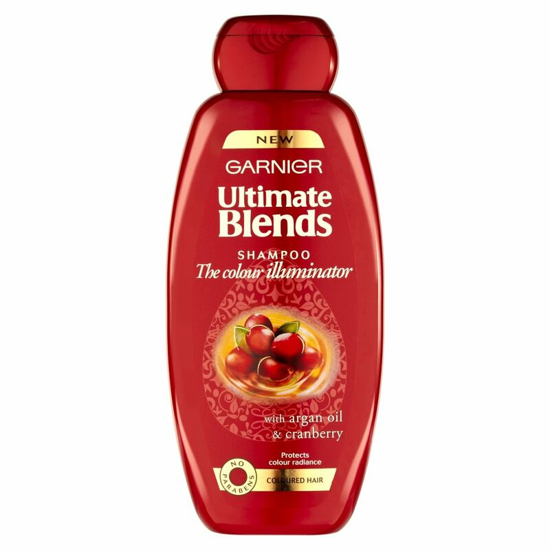 Garnier Ultimate Blends Argan Oil Coloured Hair Shampoo 400ml