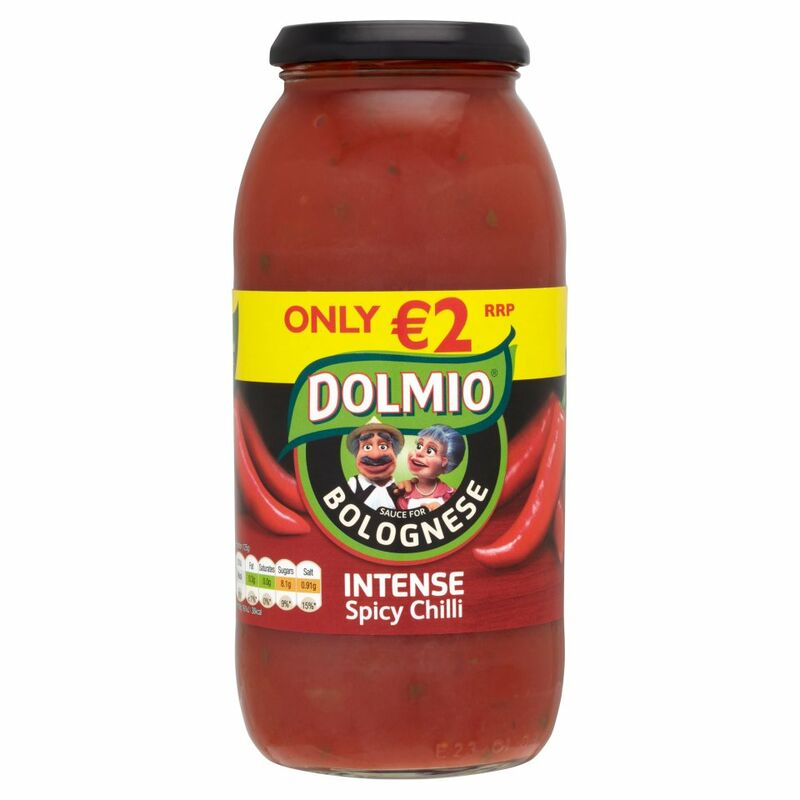 DOLMIO® Sauce for Bolognese Intense Spicy Chilli 750g