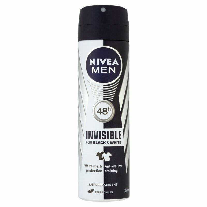 NIVEA MEN® Invisible for Black & White 48h Anti-Perspirant 150ml