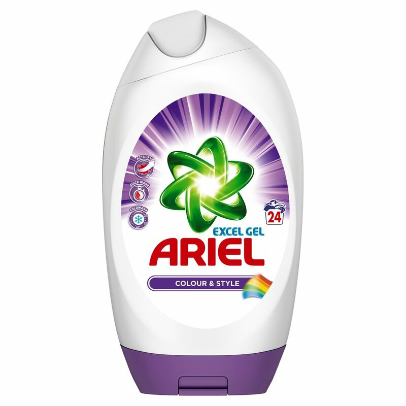 Ariel Washing Gel Colour & Style 24 Washes