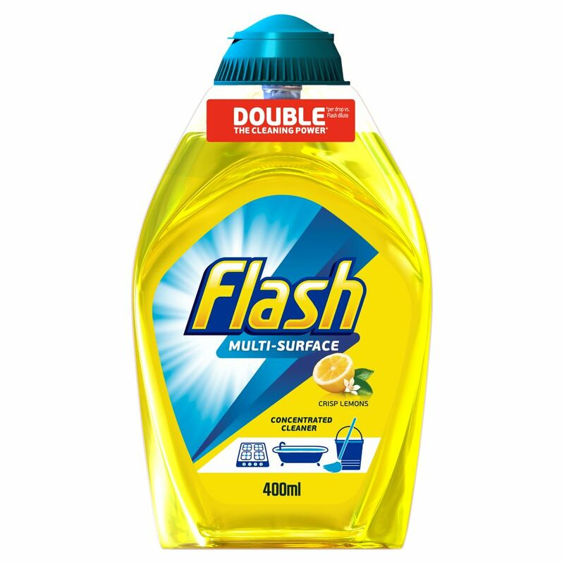 Flash Multi Surface Concentrated Cleaner Lemon 400ML