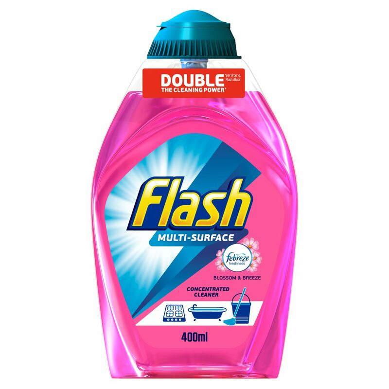 Flash Multi Surface Concentrated Cleaner Blossoms and Breeze 400ML