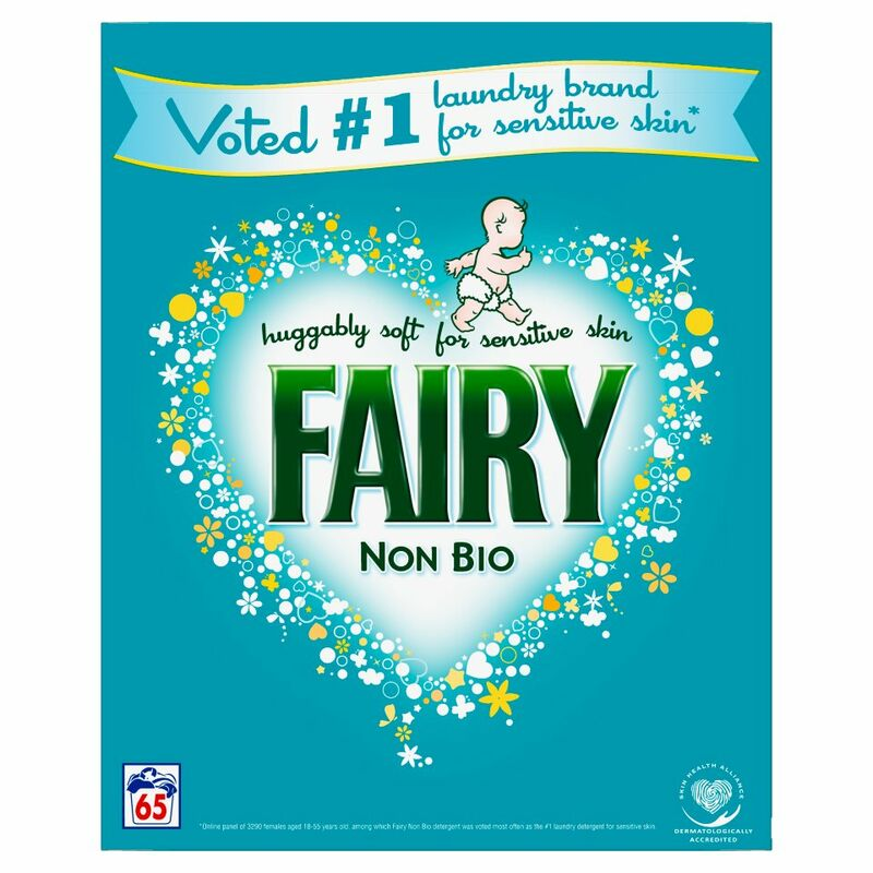 Fairy Non Bio Washing Powder For Sensitive Skin 65 Washes