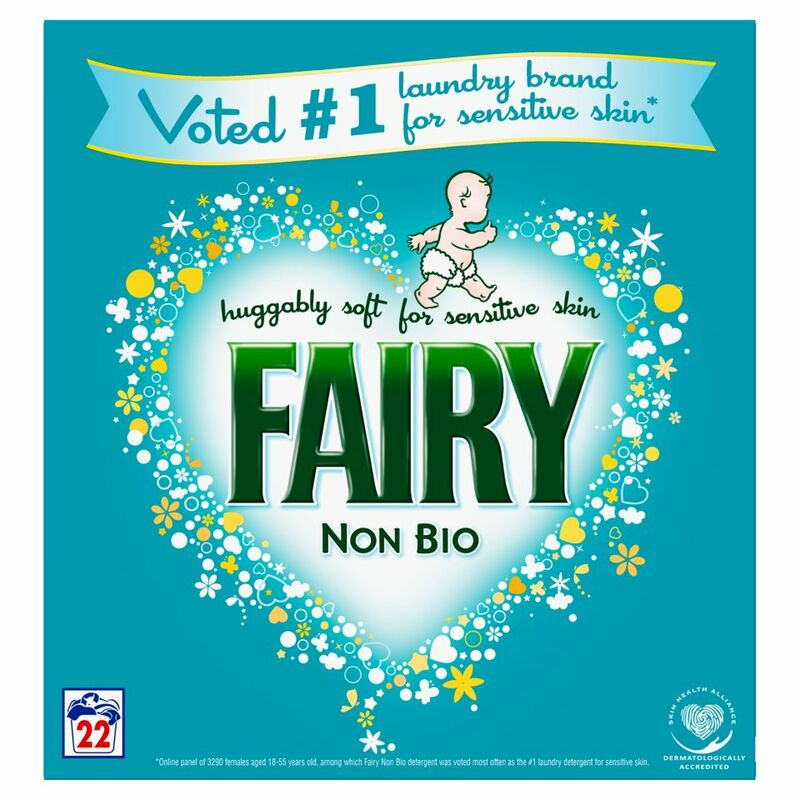 Fairy Non Bio Washing Powder For Sensitive Skin 22 Washes