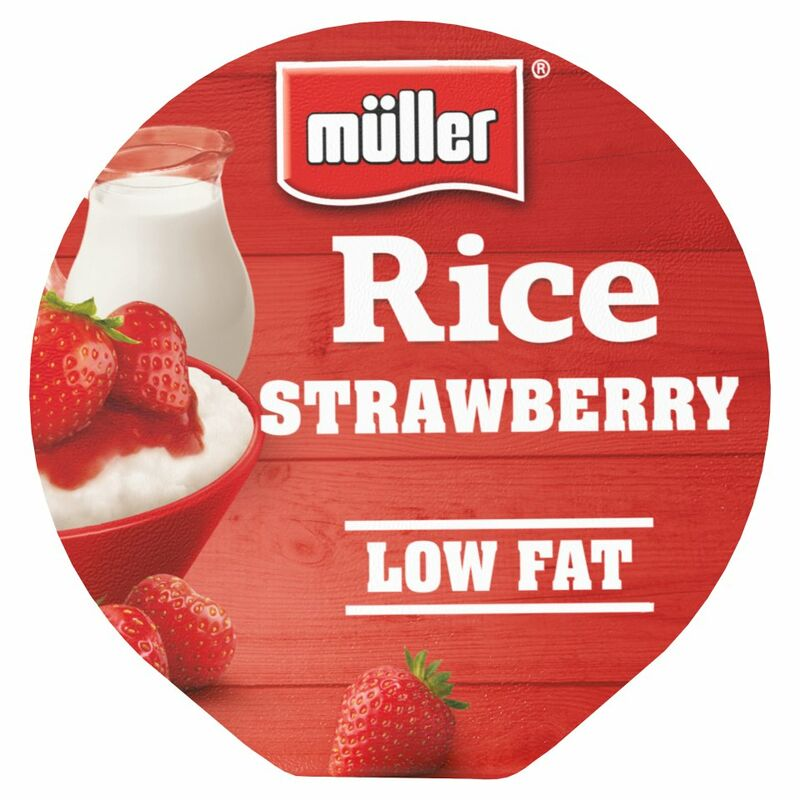 Muller Rice Strawberry Low Fat Dessert 180g