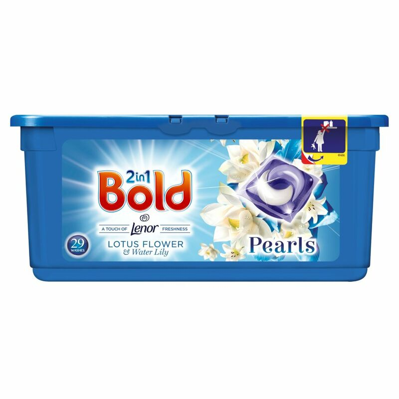 Bold 2in1 Washing Capsules Lotus & Water Lily 29 Washes