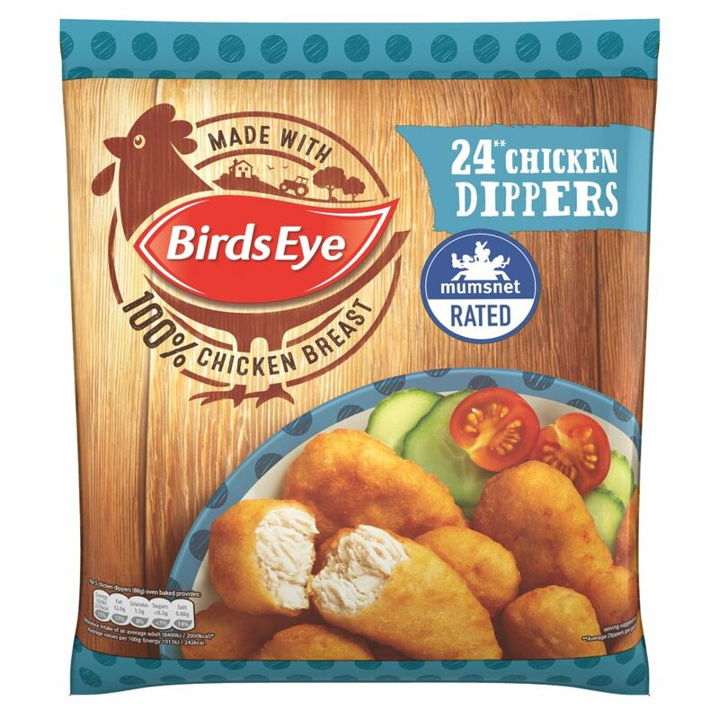 Birds Eye 24 Chicken Dippers 440g