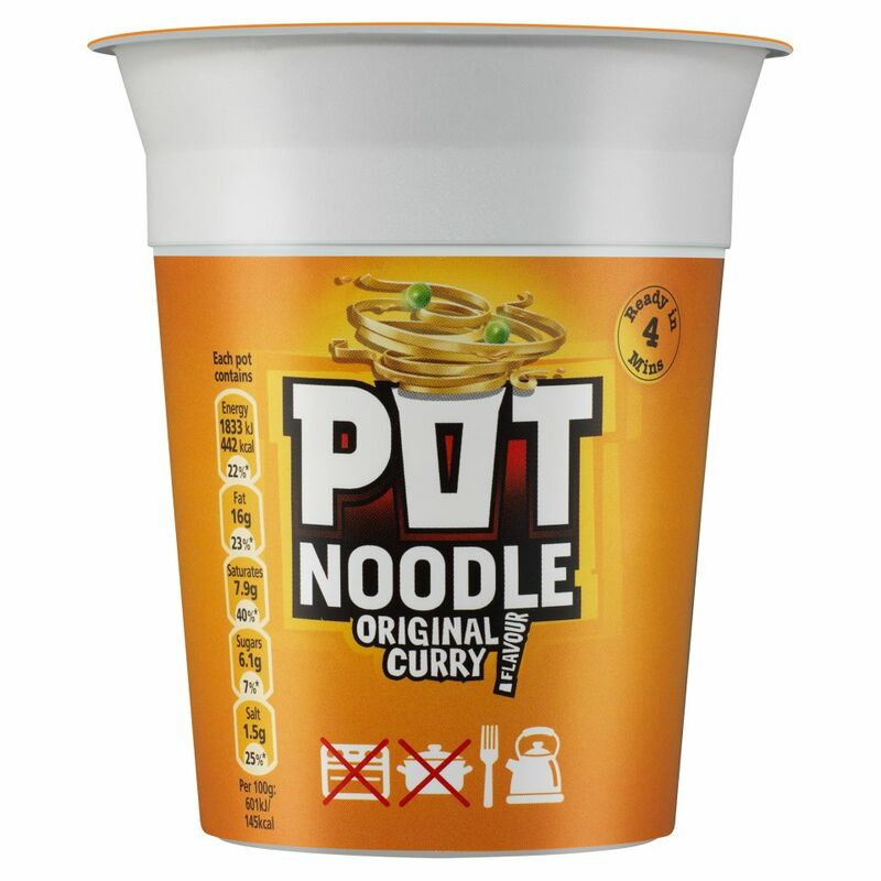 Pot Noodle Standard Original Curry 90g