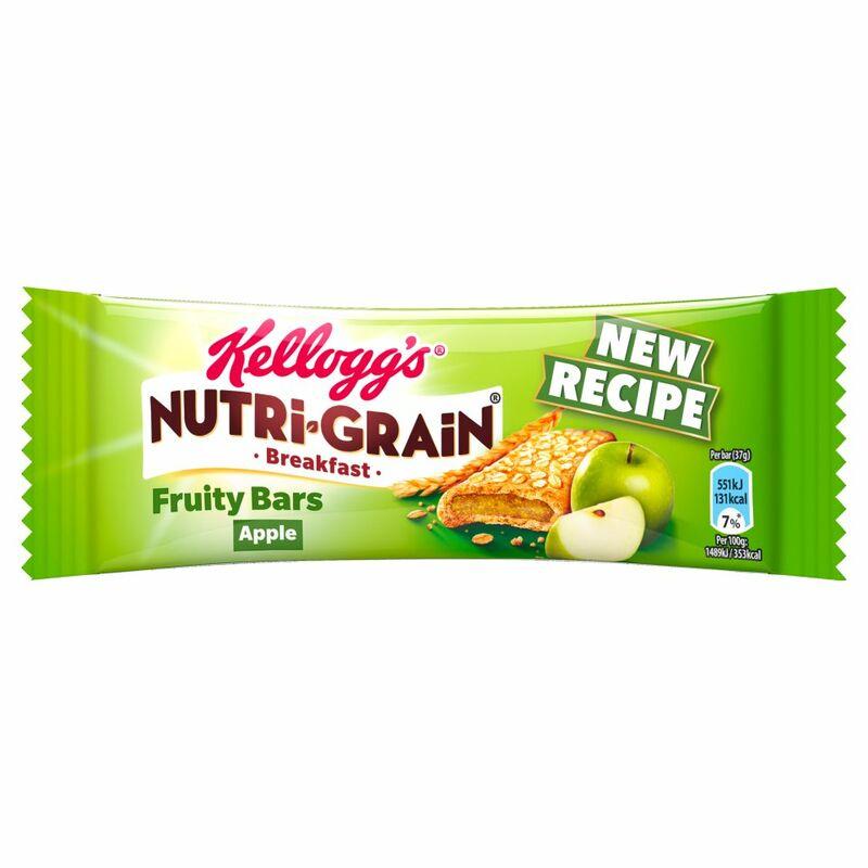 Kellogg S Nutri Grain Apple Nutritional Information