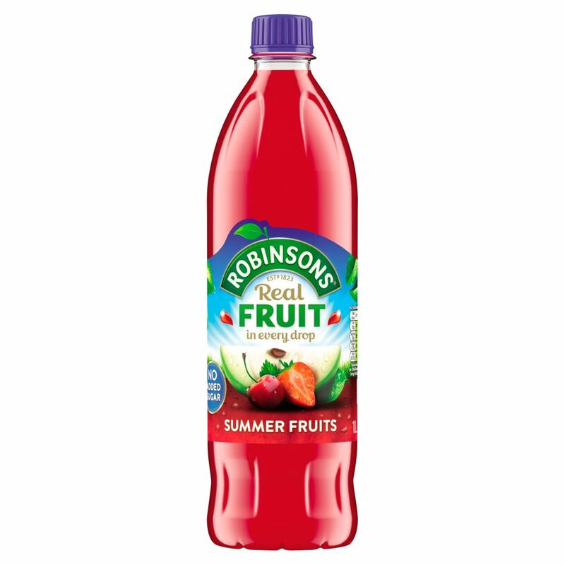 Robinsons No Added Sugar Summer Fruits 1L