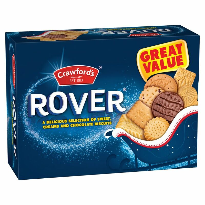 Crawford's Rover 8 Varieties 650g