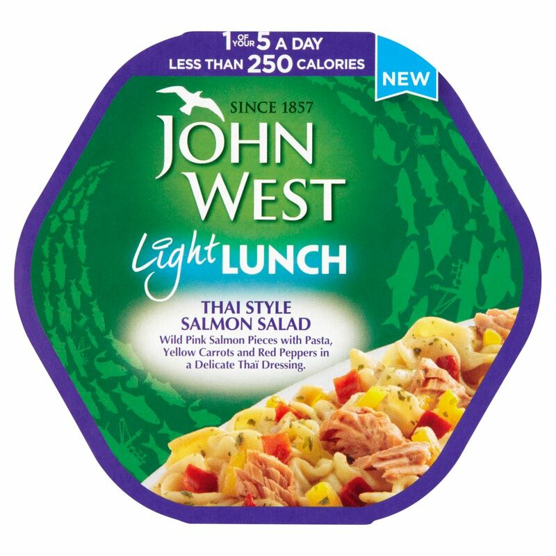 John West Light Lunch Thai Style Salmon Salad 220g