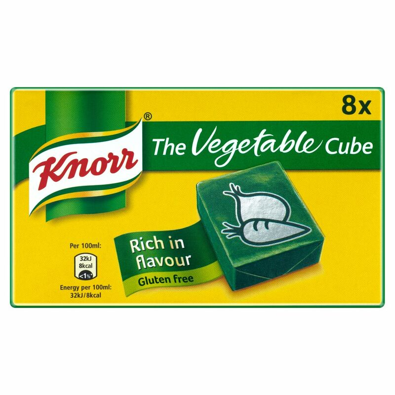 Knorr Stock Cubes Vegetable 8 x 10g