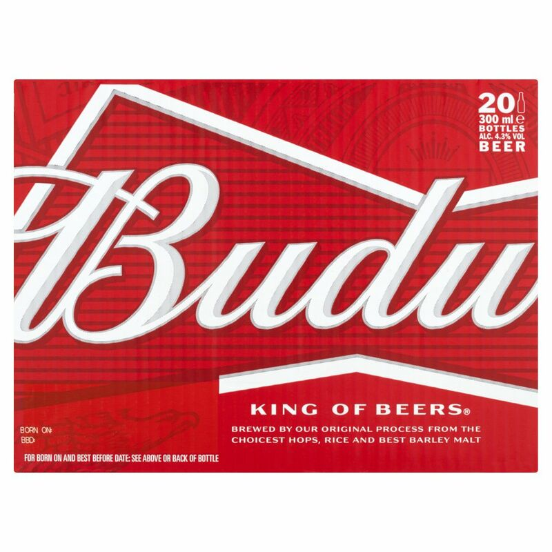 Budweiser King of Beers 20 x 300ml
