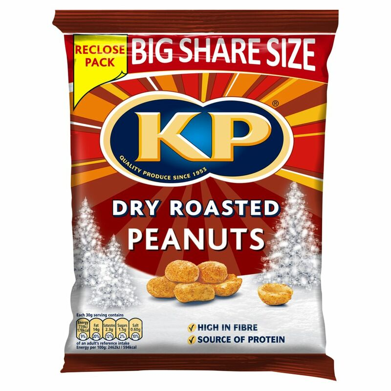 KP Dry Roasted Peanuts 450g