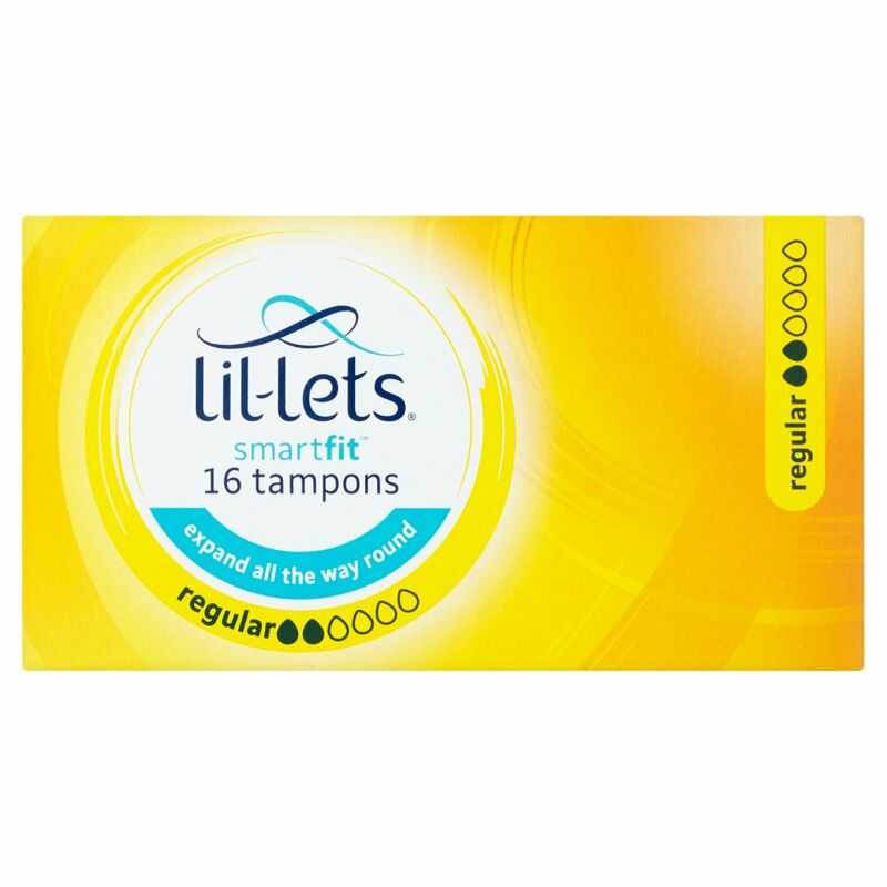 Lil-Lets SmartFit 16 Tampons Regular