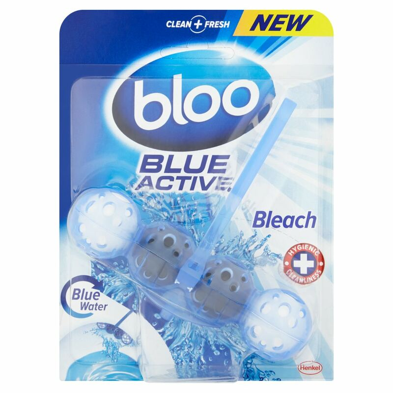 Bloo Blue Active Bleach Toilet Rim Block 50g