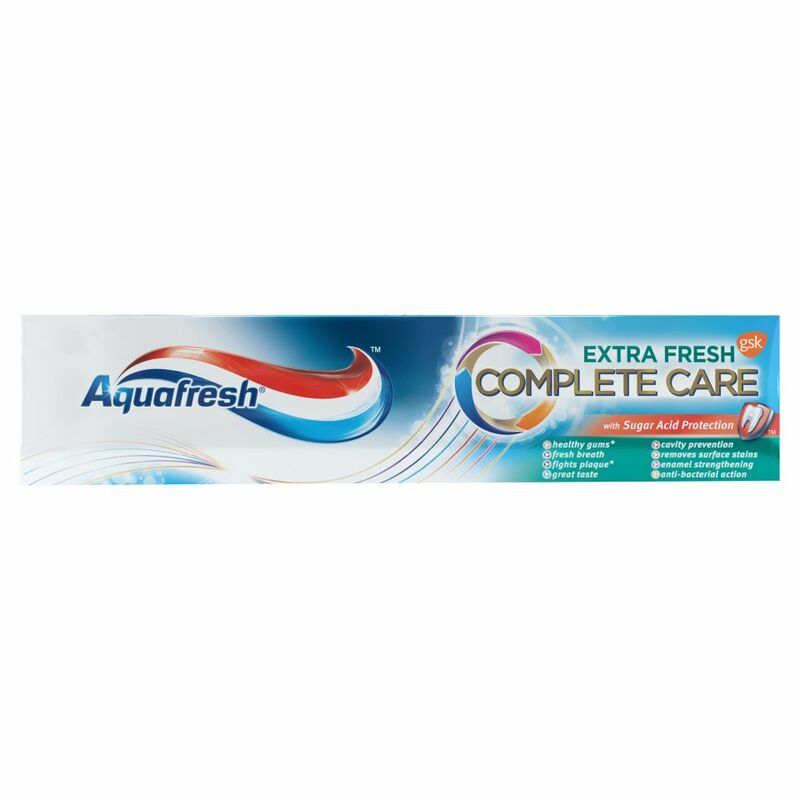 Aquafresh Complete Care Extra Fresh Toothpaste 75ml
