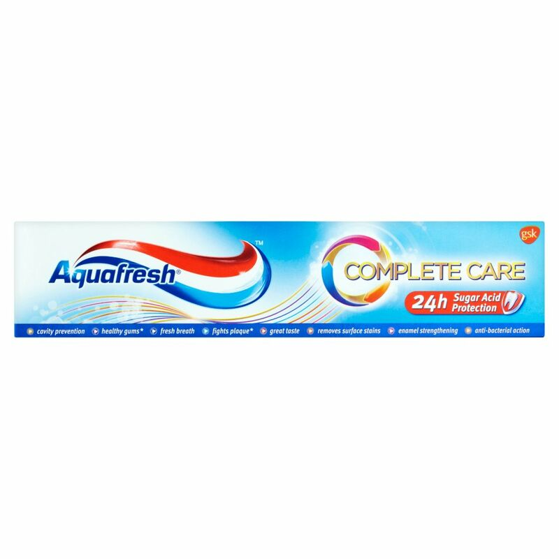 Aquafresh Complete Care Fluoride Toothpaste 100ml