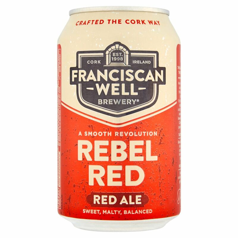Franciscan Well Rebel Red Ale 330ml