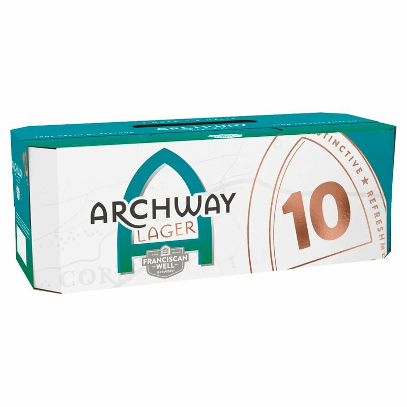 Franciscan Well Archway Lager 10 x 330ml