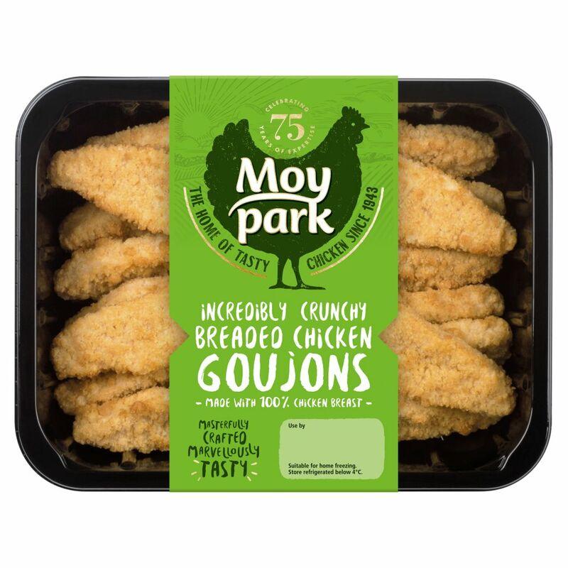 Moy Park Breaded Chicken Goujons 454g Centra