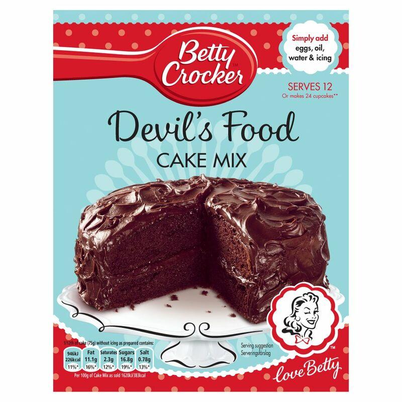 Betty Crocker Cake Mix Chocolate Crinkle Cookies
