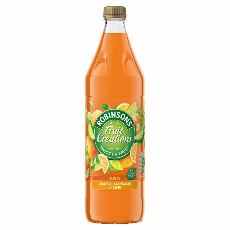 Robinsons Fruit Creations Juicy Orange, Mandarin and Lime 1L