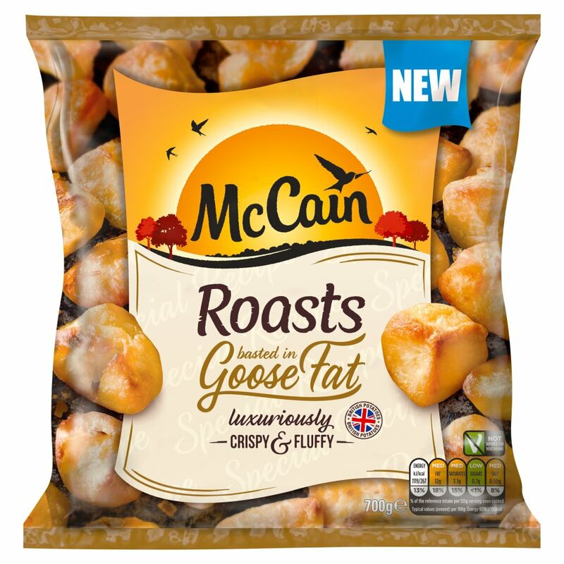 McCain Roasts Basted in Goose Fat 700g