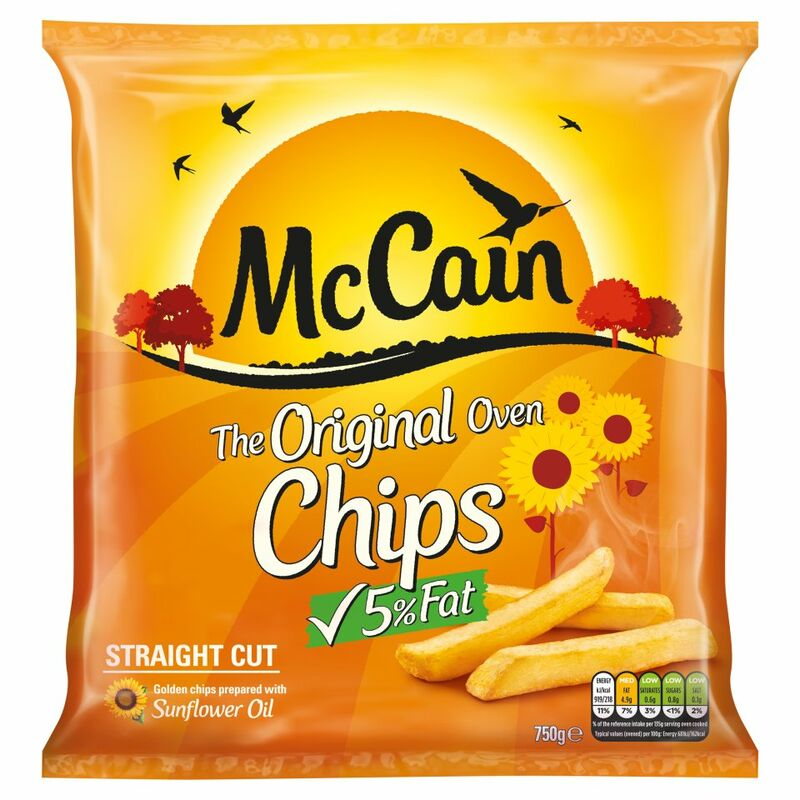 McCain The Original Oven Chips Straight Cut 750g