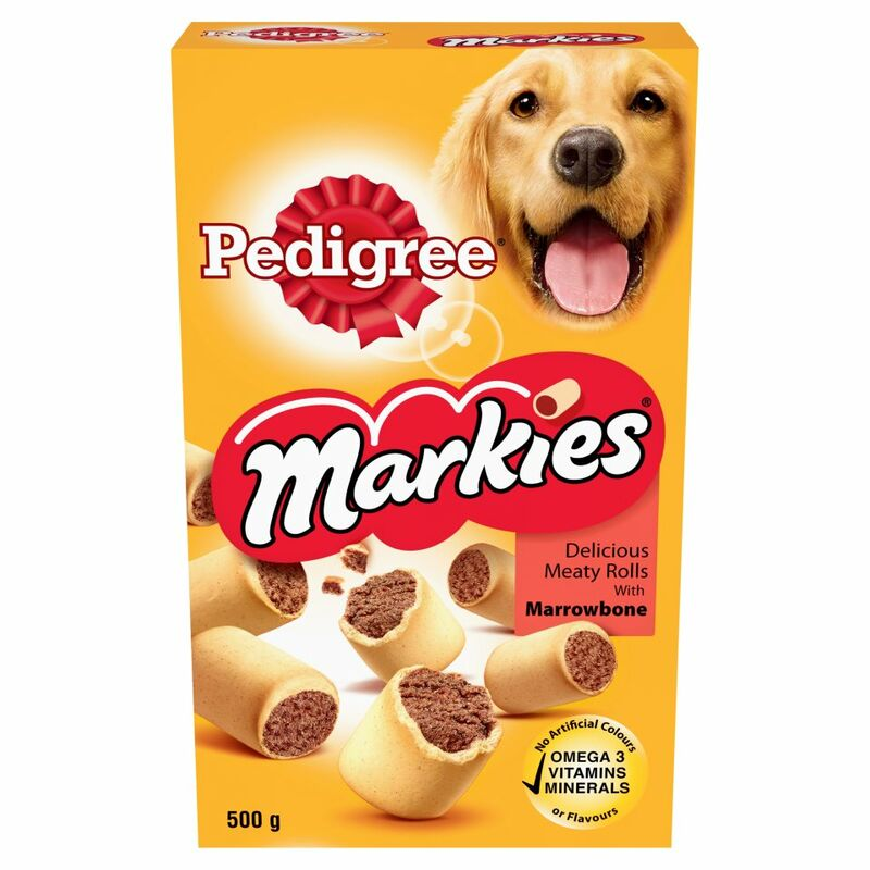 PEDIGREE Markies Dog Treats with Marrowbone 500g