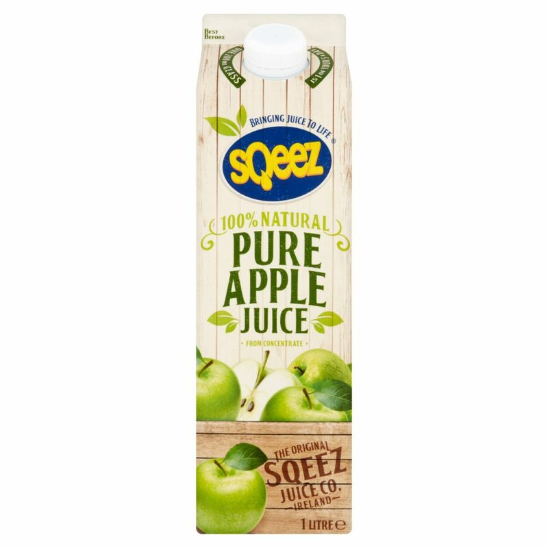 Sqeez Pure Apple Juice from Concentrate 1 Litre