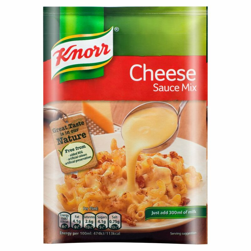 Knorr Gourmet Cheese Sauce Mix 33g