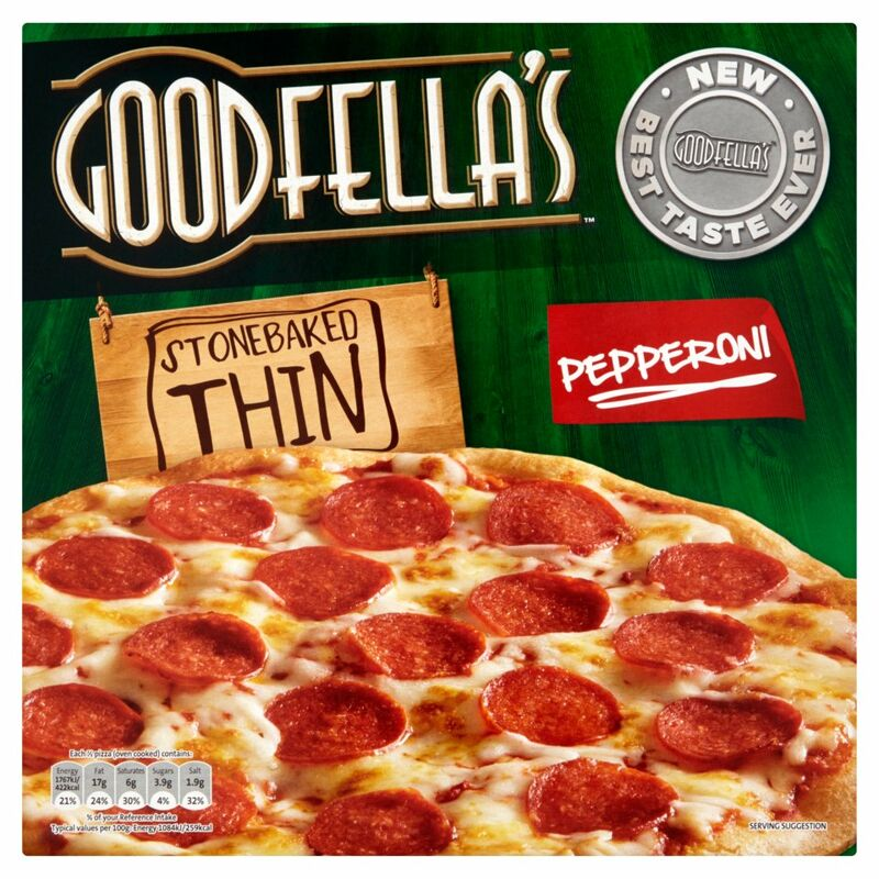 Goodfella's Stone Baked Thin Pepperoni 340g