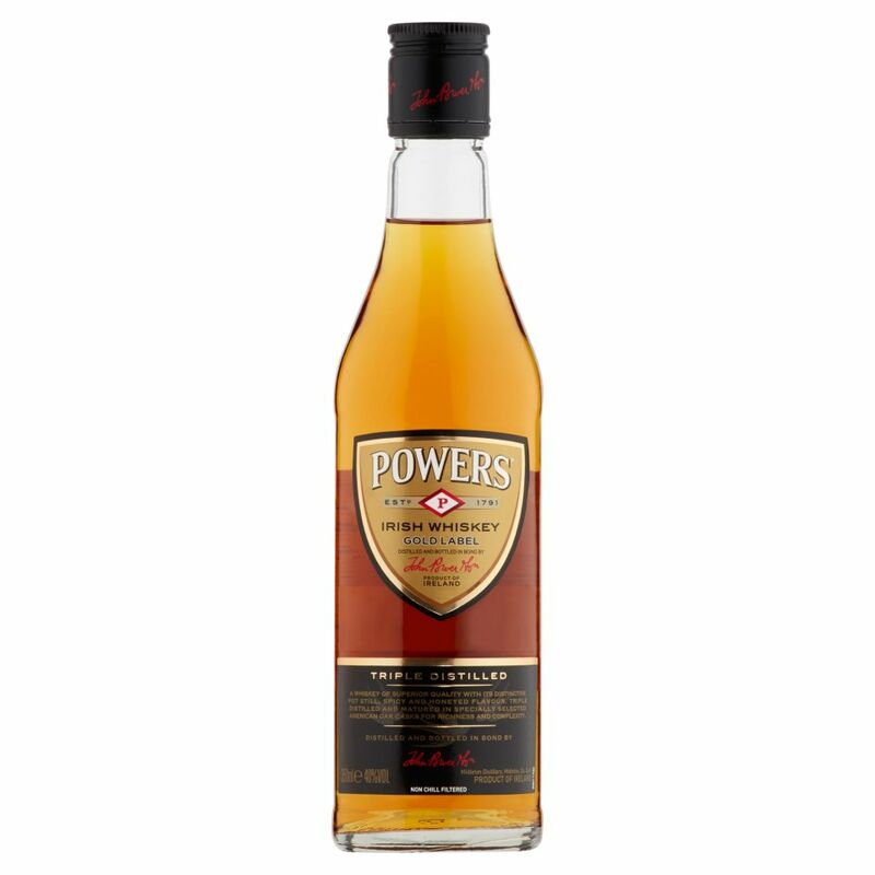 Powers Irish Whiskey Gold Label 350ml