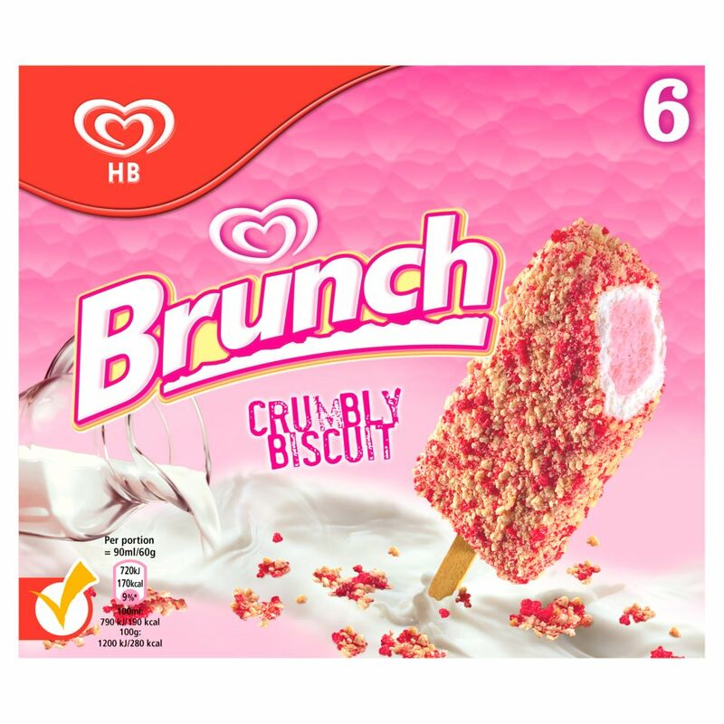 Brunch Ice Cream Lolly 6 x 90ml