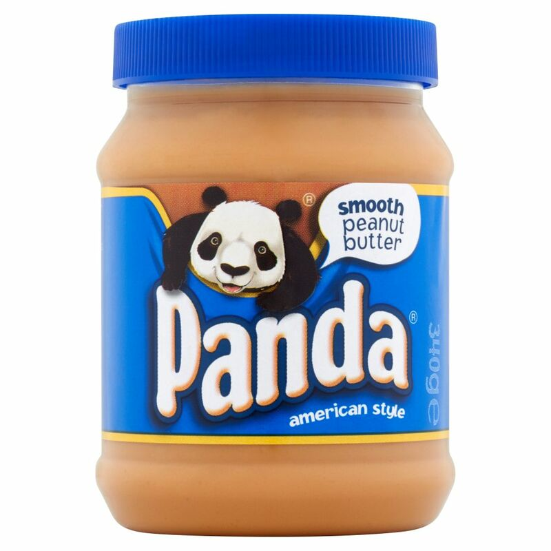 Panda American Style Smooth Peanut Butter 340g